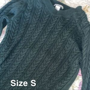 Long sleeve knitted shirt